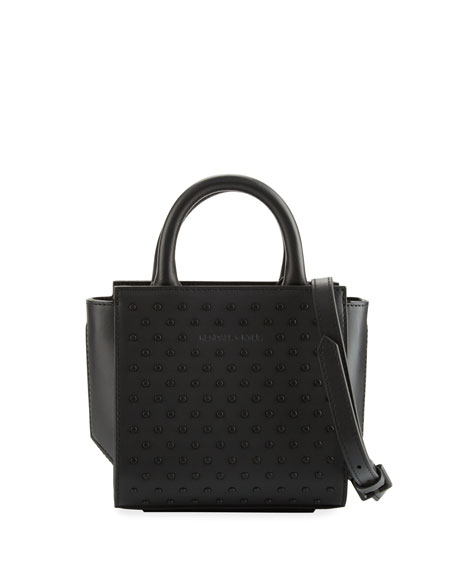 Kendall + Kylie Brook Nano Studded Satchel Bag,
