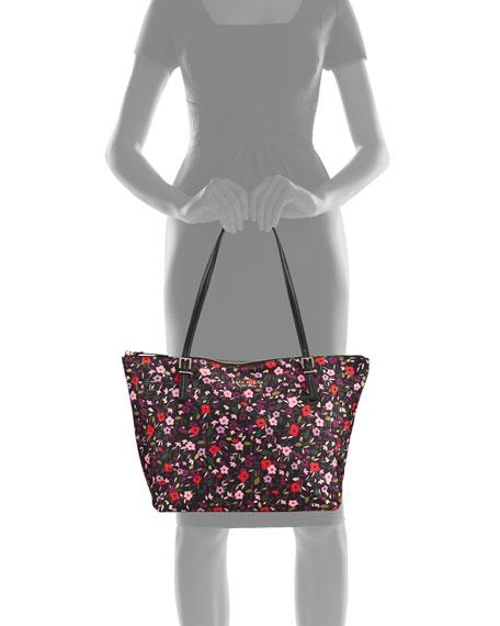 watson lane maya floral tote bag