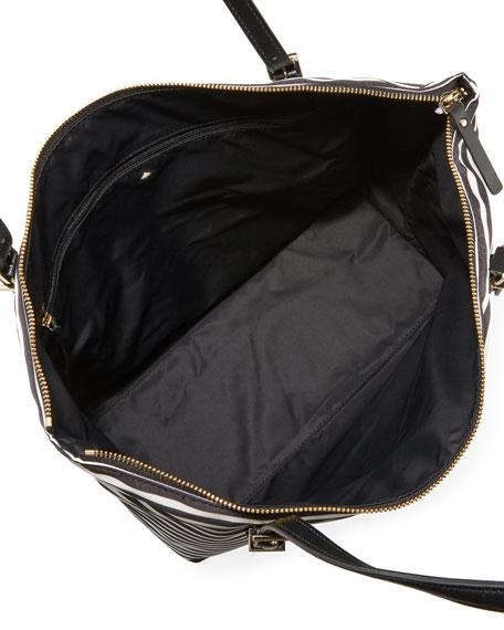 watson lane maya tote bag, black