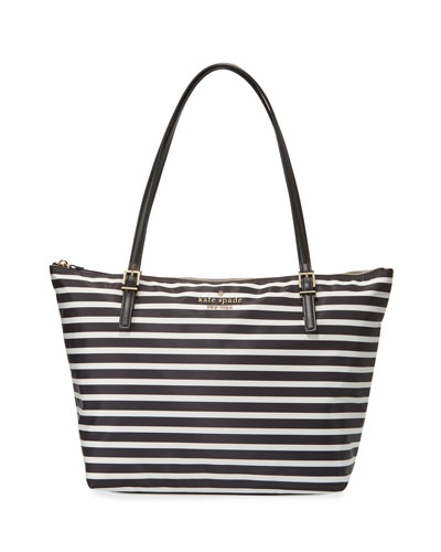 kate spade new york watson lane maya tote bag, black