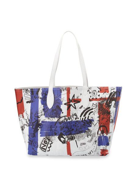 Union Jack Sketchbook Series Tote Bag, Multi