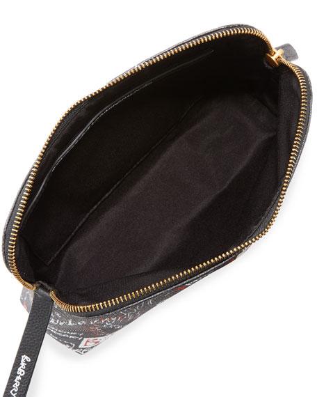 Sketchbook Series Logo Pouch Bag, Black