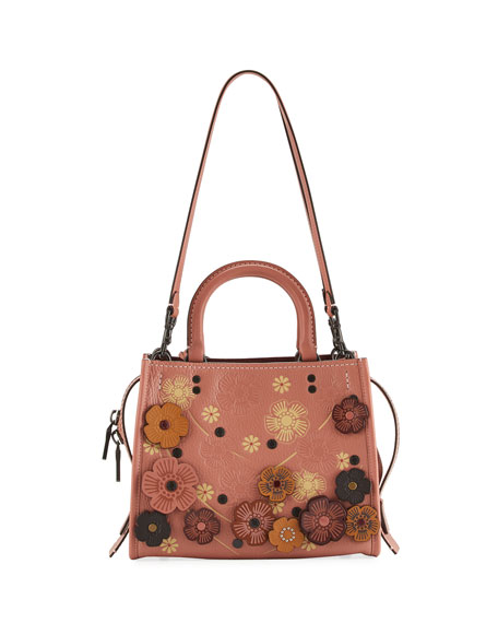 Rogue 25 Tea Rose Tote Bag, Melon