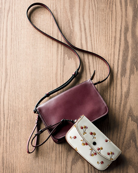 Leather Soho Crossbody Pouch Bag
