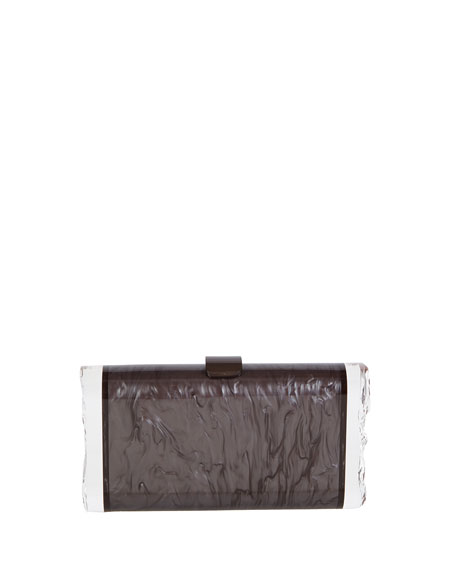 Edie Parker Lara Acrylic Backlit Clutch Bag