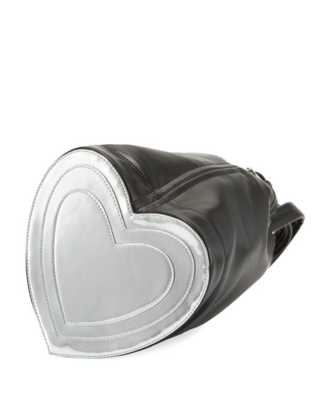 Pouch Heart Medium Bucket Bag