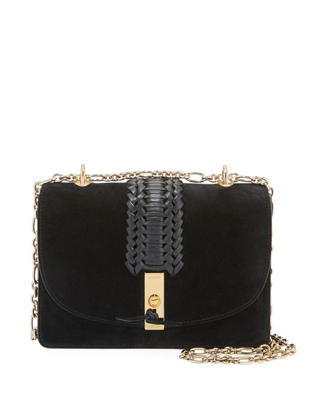 Ghianda Braided Chain Shoulder Bag