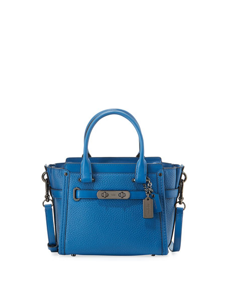 Coach Swagger 21 Leather Satchel Bag