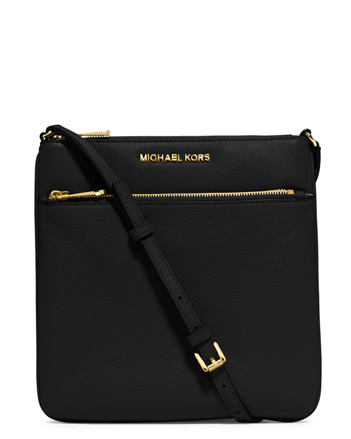 c8601e2be14f39 MICHAEL Michael Kors Riley Small Leather Crossbody Bag | Neiman Marcus