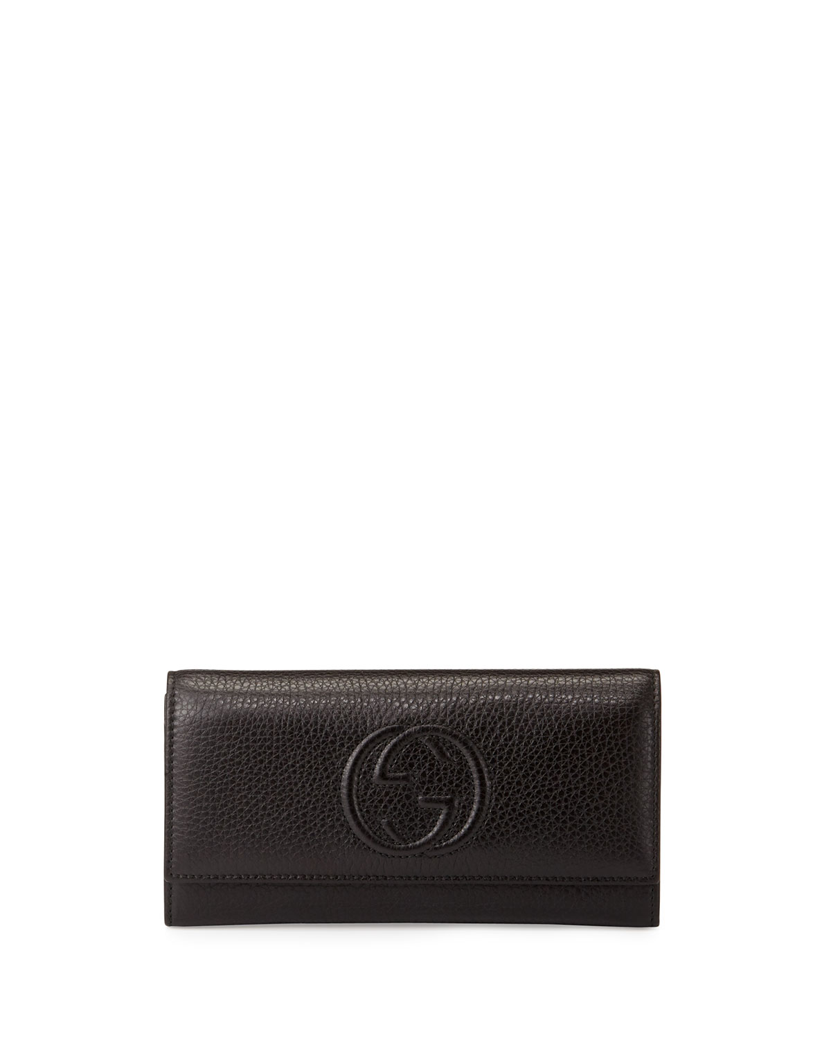5820a151220 Gucci Soho Leather Continental Wallet Neiman Marcus. Gucci Ophidia Gg  Continental Wallet At 1stdibs