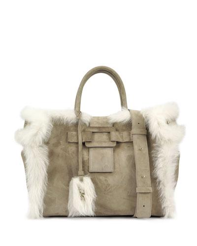 Cabas Pilgrim De Jour Medium Handbag, Beige
