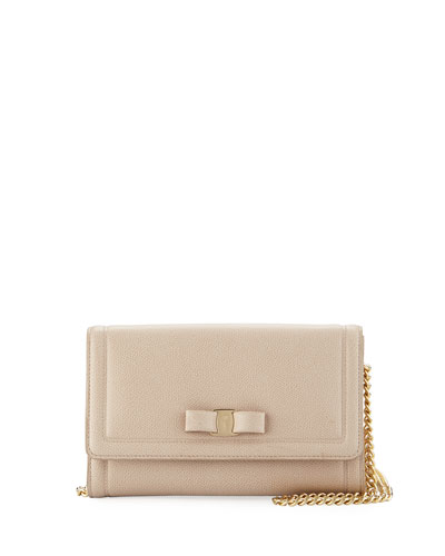 Miss Vara Wallet Mini Bag, Macademia