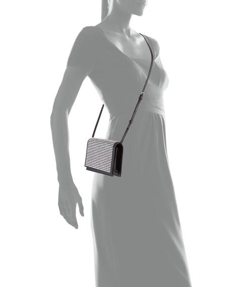 Toy Kate Small Crystal Flap Crossbody Bag
