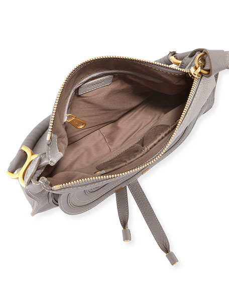 Marcie Medium Leather Hobo Bag