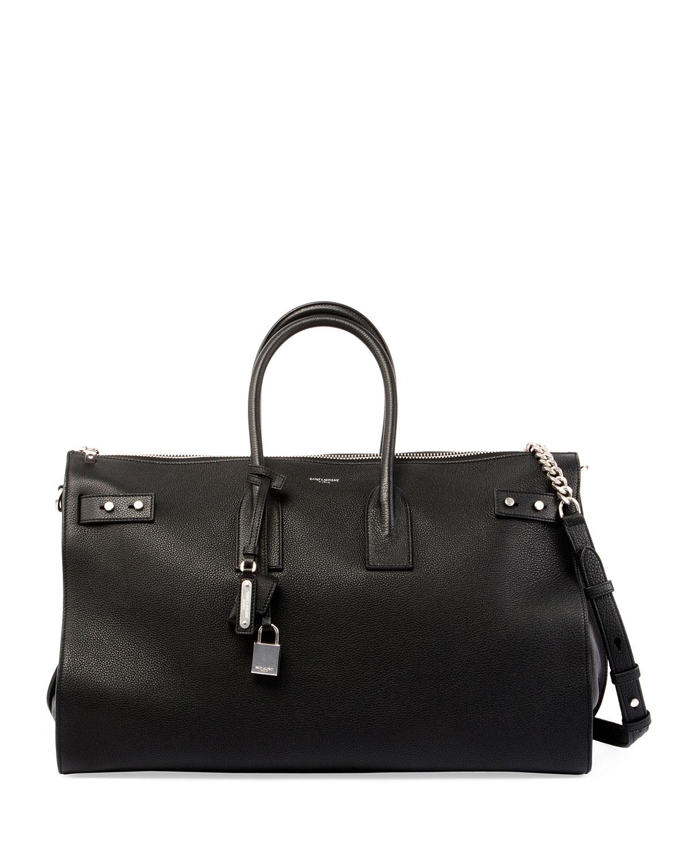 f0871a200dcd Saint Laurent Sac de Jour Travel Duffel Bag | Neiman Marcus