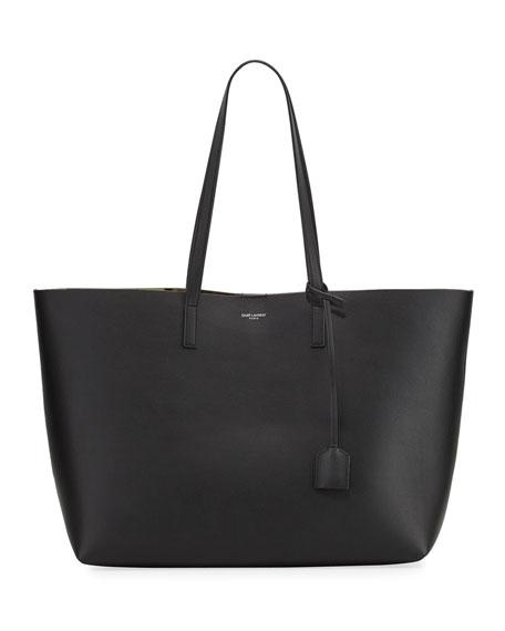 Saint Laurent Large East West Tote Bag w/