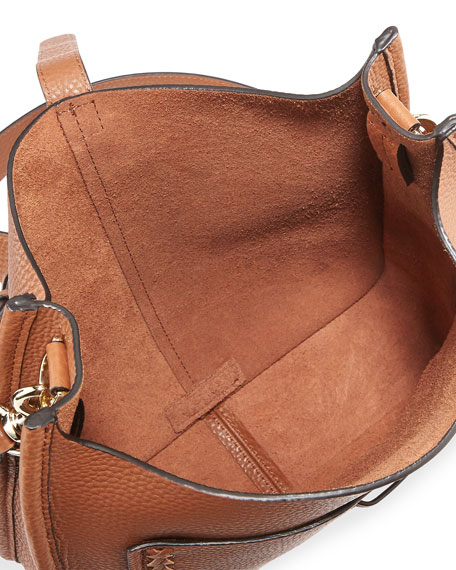 Unlined Whipstitch Feed Bag