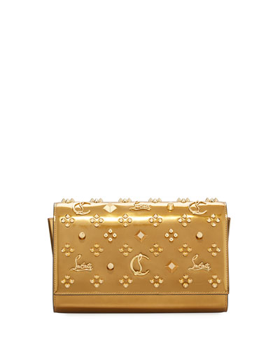 Paloma Metallic Embellished Clutch Bag
