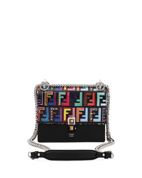 Fendi Fun Fair Kan I Small FF Scalloped
