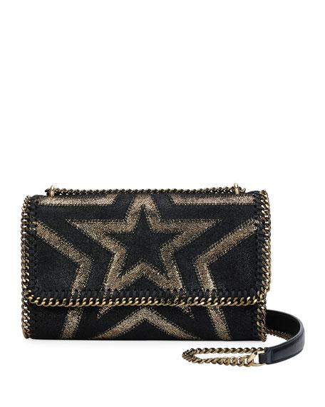 Stella McCartney Falabella Shaggy Gradient Star Shoulder Bag