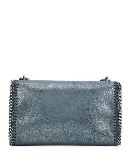 Falabella Metallic Chain-Trim Shoulder Bag