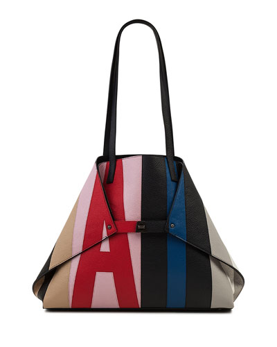 Ai Reversible Shoulder Tote Bag