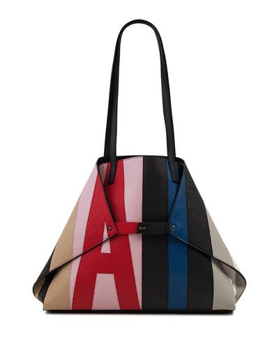 Ai Reversible Shoulder Tote Bag