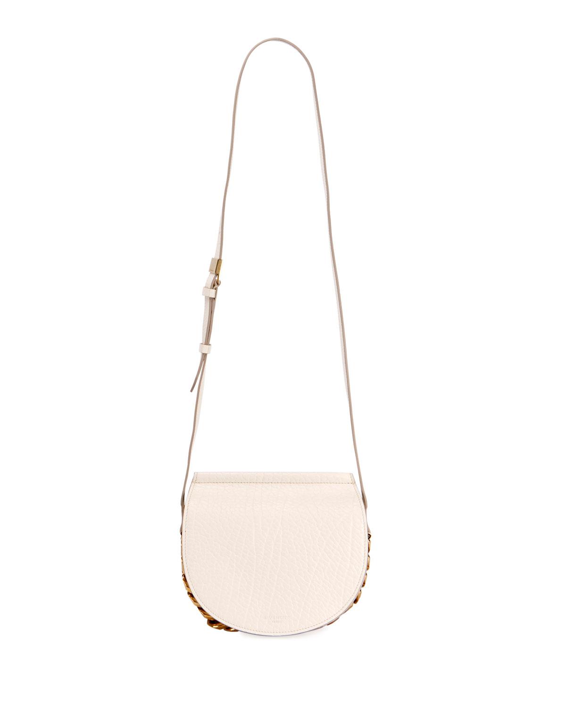 dd0ea758a0 Givenchy Infinity Mini Leather Saddle Bag