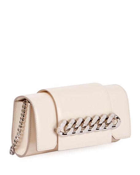 Infinity Curb Chain Clutch Bag