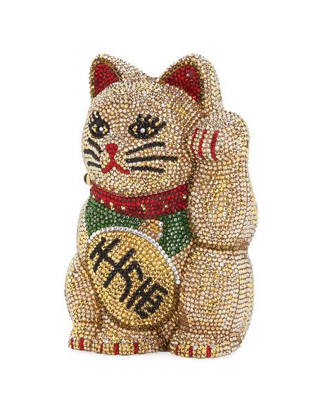 Maneki Neko Beckoning Cat Clutch Bag