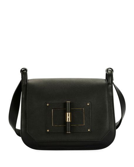 Natalia Large Calf Crossbody Bag