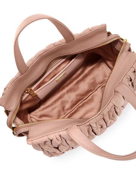 Matelassé Large Double Handle Tote Bag