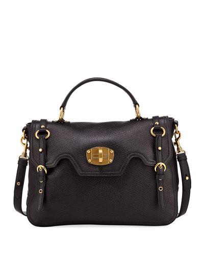 Cervo Turn-Lock Top-Handle Bag