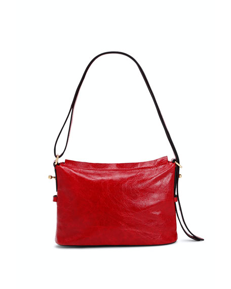 The Mini Sling Glossy Crossbody Bag
