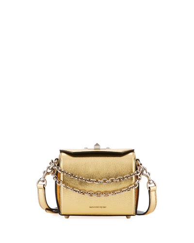 Box Bag 16 Metallic Leather Shoulder Bag