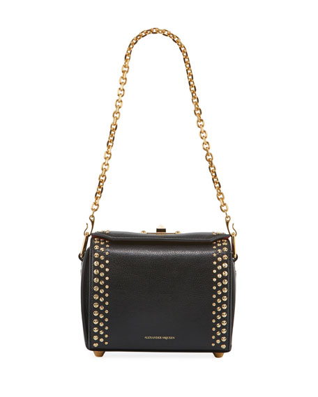 Alexander McQueen Box 19 Pioneer Calf Leather Crossbody