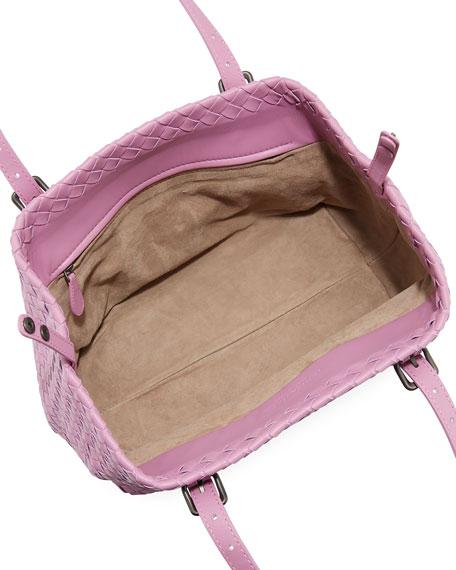 Small Intrecciato Napa Tote Bag
