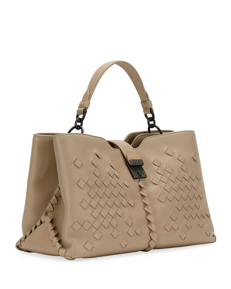 Napoli Medium Leather Tote Bag