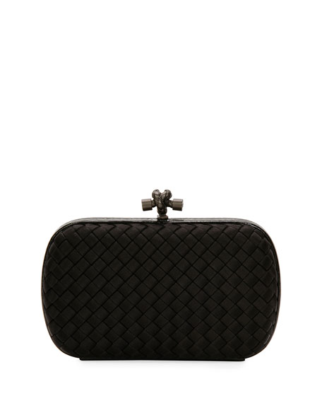 Bottega Veneta Medium Chain Knot Clutch Bag