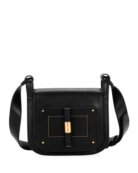Natalia Small Leather Day Crossbody Bag