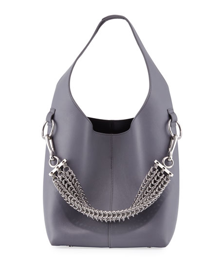 Alexander Wang Genesis Box Chain Mini Hobo Bag,