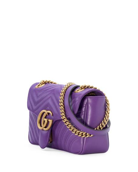 GG Marmont Small Matelassé Shoulder Bag