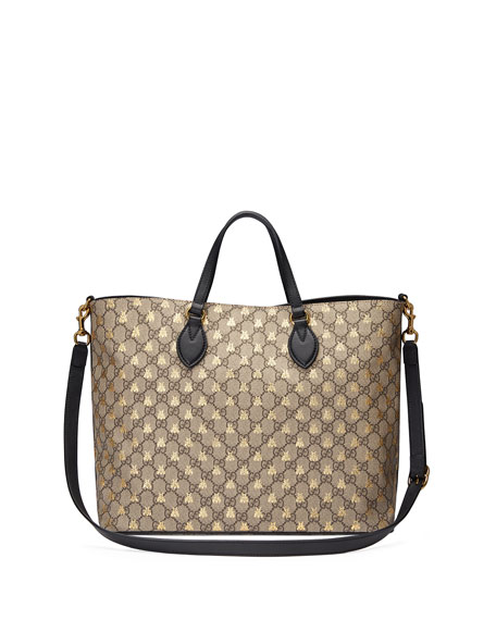 Bestiary GG Supreme Medium Top-Handle Tote Bag