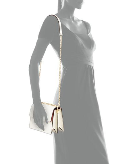 Parker Leather Convertible Shoulder Bag