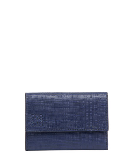 Loewe Small Vertical Calf Leather Wallet