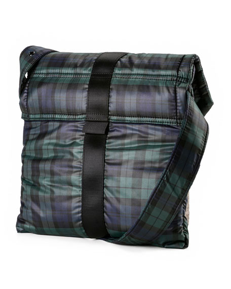 Plaid Envelope Bag