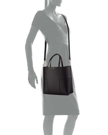 Block T Stud Mini Tote Bag