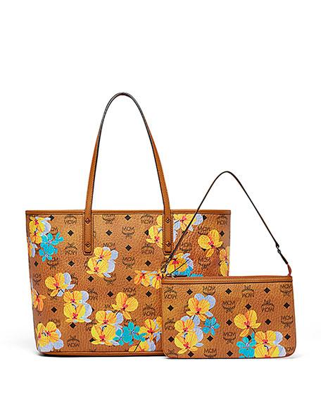 Essential Floral-Print Tote Bag