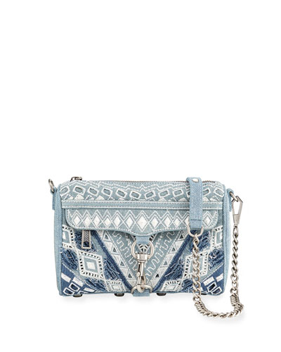 MAC Mini Denim Crossbody Bag