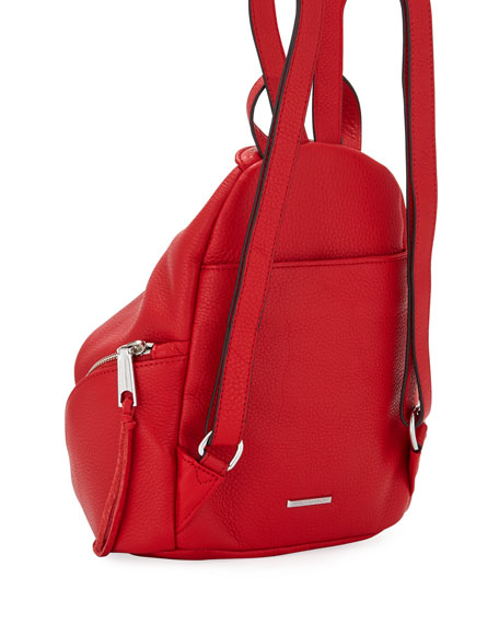 Julian Convertible Mini Backpack, Red